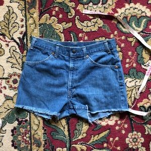 Vintage Levi's orange tab shorts